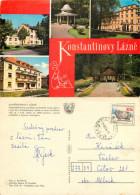 Konstantinovy Lazne, Czech Republic Postcard Posted 1976 Stamp - Czech Republic