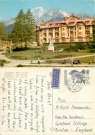 Grand Hotel, Stary Smokovec, Czech Republic Postcard Posted 1970 Stamp - Czech Republic