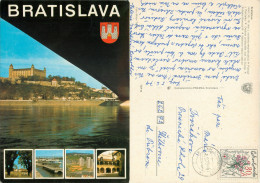 Bratislava, Slovakia Postcard Posted 1979 Stamp - Slovakia