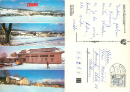 Zdikov, Czech Republic Postcard Posted 1985 Stamp - Czech Republic
