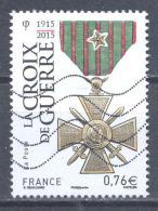 France 2015 La Croix De Guerre Oblitéré ° - France