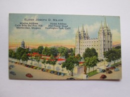 ARTICLES OF FAITH, ARTICULOS DE FÉ, Articles De Foi. ELDER JOSEPH D. MAJOR - Sonstige