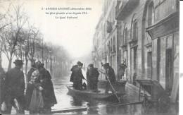 DEPT 49 - ANGERS Inondé - La Plus Grande Crue Depuis 1711 - Le Quai National - VAN - - Angers