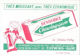 Dentifrice Chewing-gum - Blotters