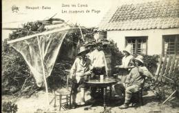 Nieuport ( Nieuwpoort ) - Top Carte - Les Ecumeurs De Plage - 1923 - Nieuwpoort