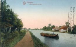Nieuwpoort / Nieuport - Aux Bords De L´Yser- 1922 ( Verso Zien ) - Nieuwpoort