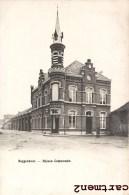 BUGGENHOUT MAISON COMMUNALE BELGIQUE 1900 - Buggenhout