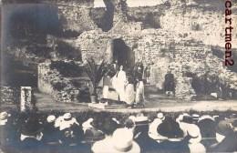 CARTE PHOTO : FREJUS THEATRE ANTIQUE COMEDIEN SPECTACLE ACTEURS 83 VAR - Frejus