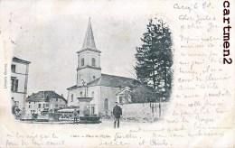 CIREY PLACE DE L'EGLISE LIBRARIE CHARTON 1900 LORRAINE METZ - Cirey Sur Vezouze