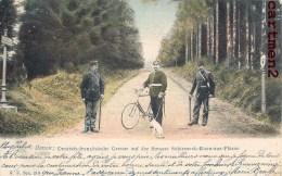 DONON RAON-SUR-PLAINE GRENZE STRASSE SCHRIMECK DOUANE DOUANIERS ALLEMANDS GUERRE 1870 CACHET METZ 1 VOSGES - France