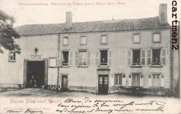 RARE CPA : MAGNY MARCHAND DE VIN EN GROS MAISON DIOU SUCCESSEUR CHALTE  Famille Louyot Fabriquant D'huile Metz - Francia