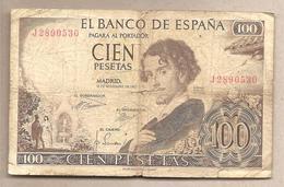 Spagna - Banconota Circolata Da 100 Pesetas - 1965 - [ 3] 1936-1975 : Regime Di Franco