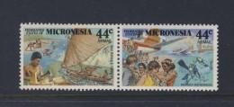 MICRONESIE 1988 TOURISME SCOTT  N°C37/38  NEUF MNH** - Micronésie