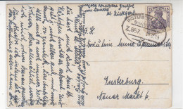 BAHNPOST Insterburg-Lyck Z. 857 12.2.19 - Allemagne