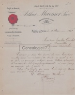 78 266W NEAUPHLE LE CHATEAU SEINE OISE 1904 Distillerie Usine à Vapeur ARTHUR MARNIER Punch A TAULERA - France