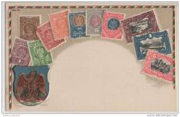 Embossed Stamps - Mexico - Republica Mexicana - Stamps (pictures)
