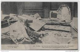 Early WW1 War Damage To Police Station At Lille, France - War 1914-18