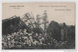 WW1 Loos, France - Soldier In A Bombed Out Street - War 1914-18