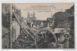 WW1 Loos - Destruction Caused By Battle - War 1914-18