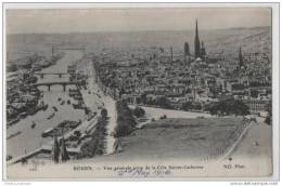 WW1 Rouen 1916 General View Of The City - (Passed Censor) - War 1914-18