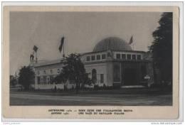 Antwerpen - Anvers  (Antwerp Belgium) Eene Zijde Der Italiaansche Sectie-Une Face Du Pavillon Italien - Exhibitions