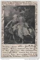 Artist Illustrated - Charles Et Marie Adelaide De France - Nice Postmarks - Illustrators & Photographers