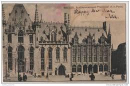 Bruges: Government Building & Post Office - Le Gouvernment Provincial Et La Poste - Belgium - Buildings & Architecture