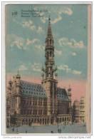 Belgium: Bruxelles Hotel De Ville / Staduis / Town Hall - Buildings & Architecture