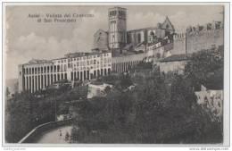 Assisi - Veduta Del Convento Di San Francesco - The Convent Of St Francis - Italy - Buildings & Architecture