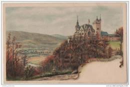 Artist Signed (H. Lenke) Chromo Litho Gruss Aus Schloss Rothestein B Allendorf / Werra - Gruss Aus.../ Grüsse Aus...