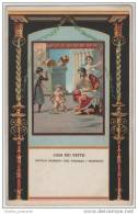 Baby Hercules Wrestling Serpents - Ercole Bambino Che Strozza I Serpenti - Italian Art Card - Fairy Tales, Popular Stories & Legends