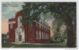 Senior Hall, Saint Johns College, Annapolis, MD (Maryland USA) - Schools