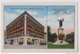 Francis Scott Key Hotel, Frederick, Maryland  -  USA - Hotels & Gaststätten