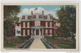 Maryland - The Governors Mansion House - Annapolis - Buildings & Architecture
