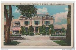 Annapolis, Maryland - Superintendent's Residence, US Naval Academy - Barracks