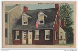 Frederick, Maryland - Barbara Fritchie House (Civil War Heroine) - History
