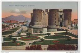 Napoli - Castel Nuovo (Maschio Angioino) Medieavil Castle - Naples, Italy - Castles