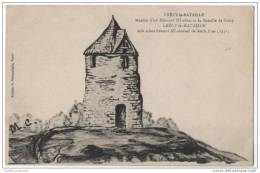 France - La Bataille De Crécy - Moulin D'ou Edouard III Observa La Bataille De Crécy (M.C) - Windmills