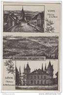 France: Panorama De Lorette - Liévin - Château De Rollencourt & Vimy LEglise Et Le Mont - France