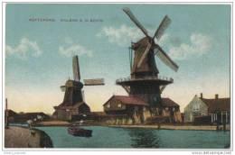 Netherlands - Rotterdam - Molens A.D Schie - Dutch Windmills - Windmills