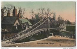England - Suspension Bridge, Chester - Cheshire - Bridges