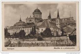 Hungary - Esztergom -  Bazilika Es Primast Palota - Hungary
