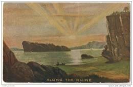 Along The Rhine - Artist Illlustrated Fantasy - Very Rare Grand River - Iowa Postmark (1908) - France
