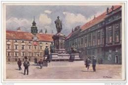 Austria - Vienna Wien - Hofburg - Artist Signed  R.Preuss - Vienna