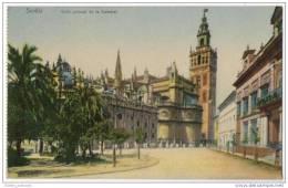Spain - Sevilla - Vista General De La Catedral - Sevilla