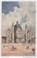Artist Signed - Karlskirche - Vienna