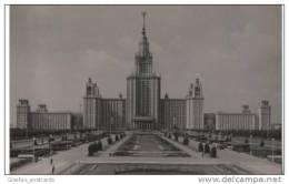 Russia - Real Photo Card - Moscow State University - Lomonosov - Russia