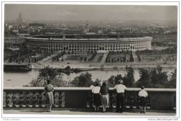 Russia - Moscow - Lenin Central Stadium & River (1959) - Russia