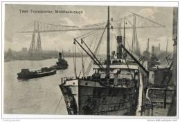 Middlesbrough, Teesside - Cleveland - Tees Transporter Bridge & Docks - Yorkshire - England