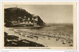 San Sebastian - Playa De Ondarreta Y Monte Igueldo - Guipúzcoa (San Sebastián)